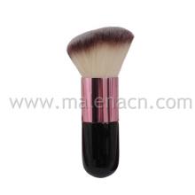 Abgewinkelte kosmetische Kabuki-Bürste mit synthetischem Haar