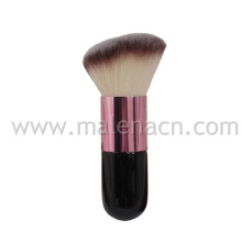 Cepillo anguloso Kabuki cosméticos con pelo sintético