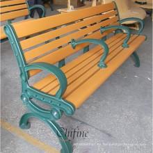 Aluminio a presión fundición larga silla al aire libre