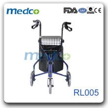 Легкий алюминиевый роликовый ходунок для отключения RL005