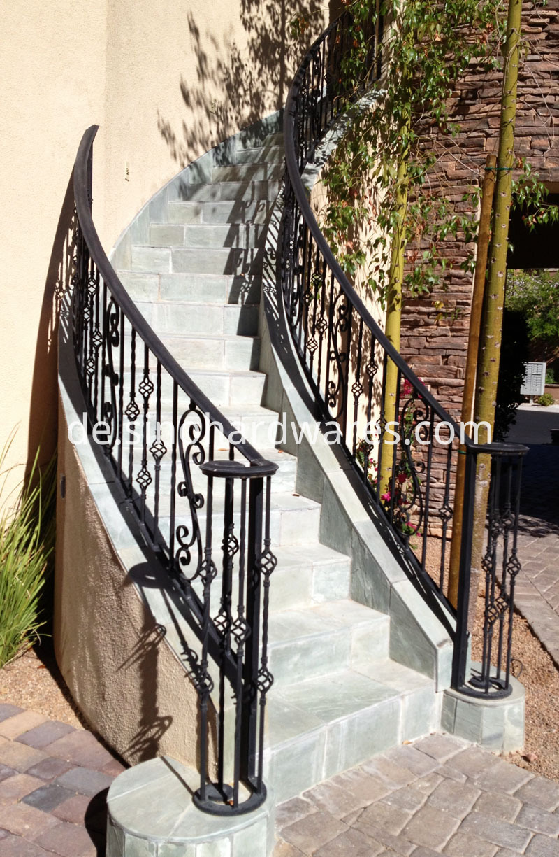 wrought iron porch railings