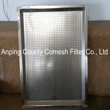 Welded galvanized stainless steel cable trays