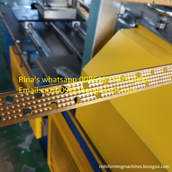 wall angle conrner bead roll forming machine 7