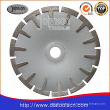 Outil de diamant: scie à scies concaves 180 mm