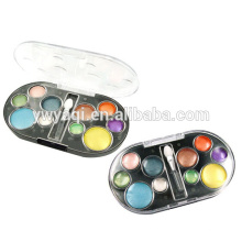 Recipientes de sombra com 10 cores redondo plattes usado para olho