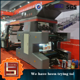Flexographic Printing Machine with PLC Touch Screen