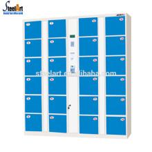 Intelligent barcode design electronic parcel locker