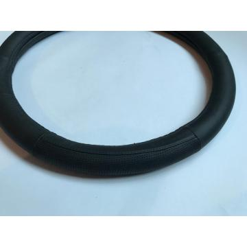 Genuine leather steering wheel covers