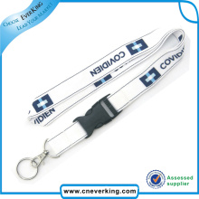 Free Sample Personlized Nylon Strap Lanyard für Key