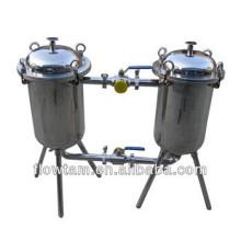 Popular filtro de barril duplo de aço inoxidável