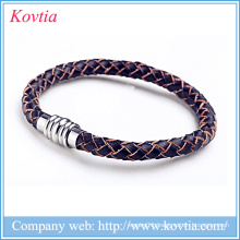 Cheap mens leather bracelet jewelry wholesale china jewelry birthday gifts for men