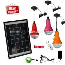CE & patente carregador solar portátil LED luzes wieh móvel
