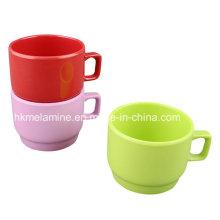 Taza de café Stabkable de melamina (CP096)