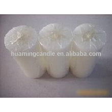 Huaming 7 day candles wholesale Exporters/white pillar candles
