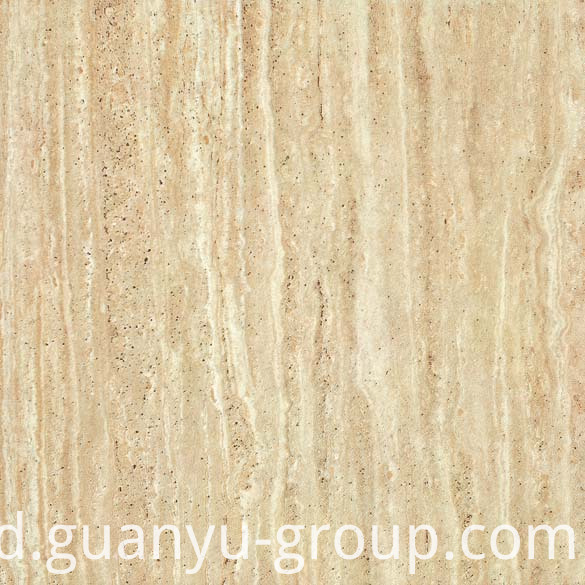 Yellow Travertine Marble Porcelain Tile