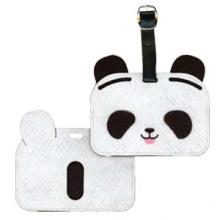 Étiquette de bagage - Applique - Panda