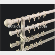 european style metal curtain rod,window curtains for home decor,aluminium pipe,aluminium alloy bar