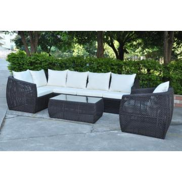 Patio Gartenmöbel Rattan Garten Sofa Luxus Sofa