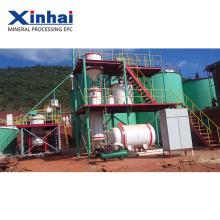 Planta de extracción de oro de China, planta de lixiviación de oro