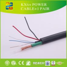 Haute qualité 7X0.2mm Bc, CCS Kx6 + câble d'alimentation + 1 paire