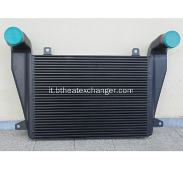 Intercooler post-vendita in alluminio per camion