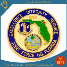 Moeda de alta qualidade do exército da força do costume