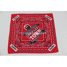 Bandanas 100% coton - Impression sublimation 55x55cm