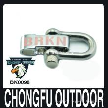 metal adjustable shackle with laser logo