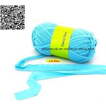 Cheap Hand Knitting Crocheting Fancy Fabric Strip Elastic T-Shirt Yarn