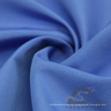 Resistente al agua y al aire libre ropa deportiva al aire libre chaqueta tejida Pongee piel de melocotón rayado Jacquard 100% tela de poliéster (63045B)