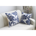 La venta de la fábrica el 100% algodón que imprime las cajas de almohada del estilo chino de encargo