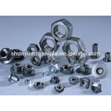 Non-standard tungsten molybdenum t screw nut