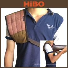 A lona da caça de Tourbon e a almofada de ombro do couro para proteger o estoque da arma do ombro recolhem a almofada