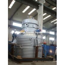 Réacteur en acier inoxydable à demi-tuyau