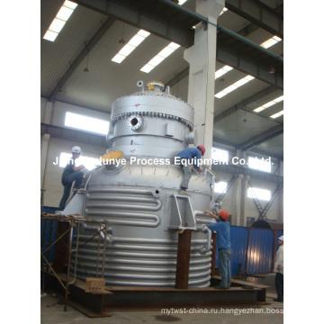 Реактор из нержавеющей стали с половинной трубкой