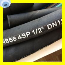 Tuyau hydraulique multispiral de qualité de la meilleure qualité DIN 20023 en 856 4sp