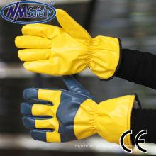 Luvas de esqui amarelas baratas NMSAFETY