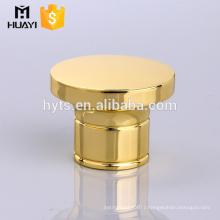 gold round perfume bottle cap
