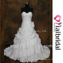 RSW356 Ballkleid dropped Taille Hochzeitskleid