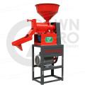 Máquina de trituração do moinho de arroz de Satake do conjunto do DIVERAR AGRO Mini inteira para o uso doméstico