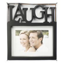 "5""X7"" With Single Mat Photo Frame Laugh"