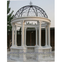 Stone Marble Garden Gazebo for Outdoor Garden Ornament (GR065)