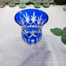 tasse en verre de cristal de haute qualité pour la décoration à la maison