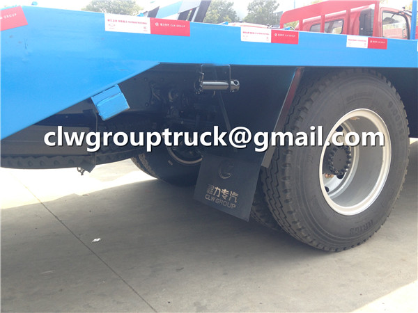 Flatbed Truck Tire and Spare one