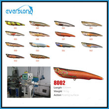 105mm/16.5g revêtement de haute qualité leurre de pêche leurre dur matériel de pêche