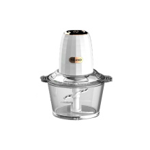 Quality electric food chopper with glass bowl