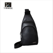 Cross body outdoor waterproof nylon blue sports daypack sling backpack bag