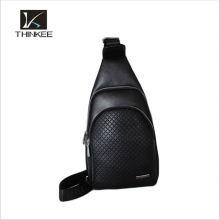 Cross body outdoor nylon imperméable à l'eau bleu sports sac à dos bandoulière sac à dos