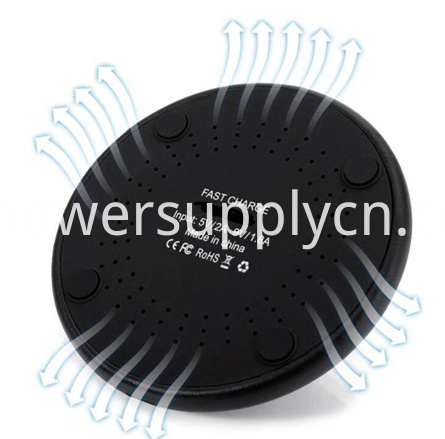 Led Indicator Wireless Fast Charger For Mobile Phone