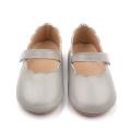 Leather Lacework Dress Dance Newborn Baby Shoes Girls